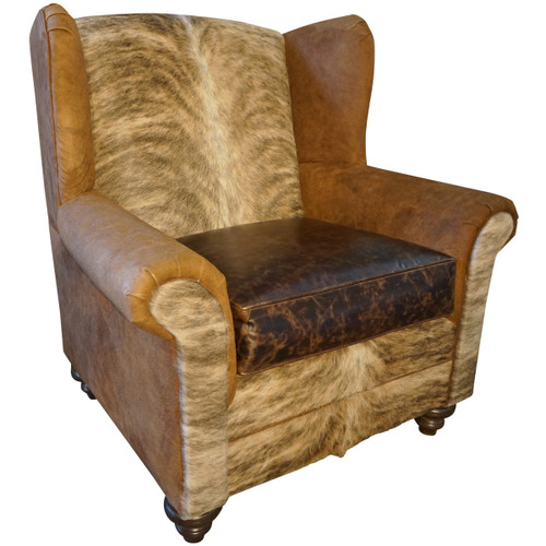 Mountain Home Oversized Wingback Chair