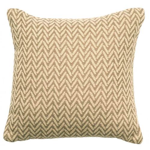 Mountain Storm Alps Linen Pillow