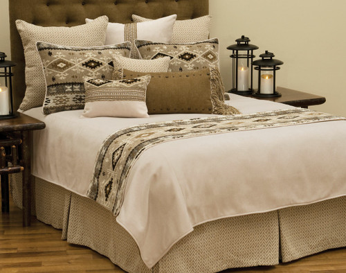 Mountain Storm Coverlet - Cal King