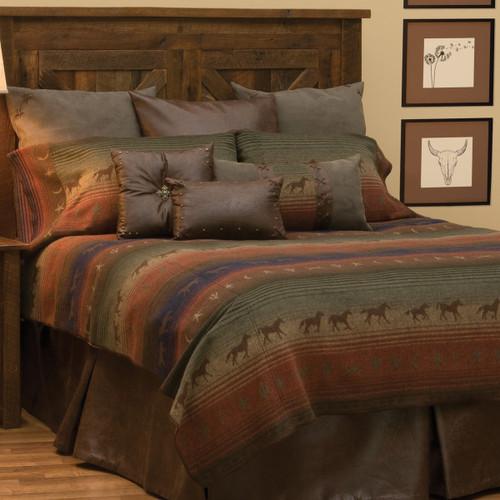 Mustang Canyon II Bedspread - Full/Queen