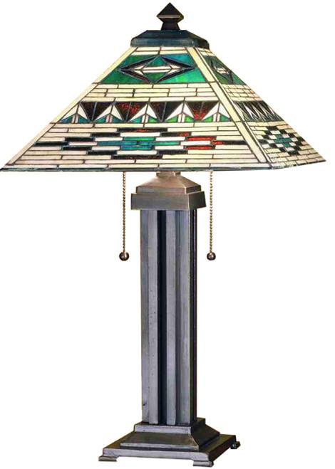 Comanche Mission Table Lamp
