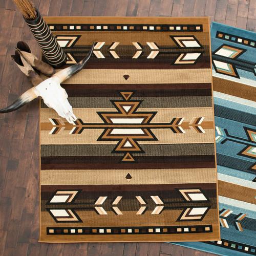 Native Arrows Berber Rug - 8 x 10