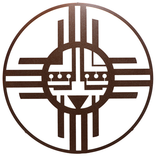Native Sun Metal Wall Art - Sparkle Copper - OVERSTOCK