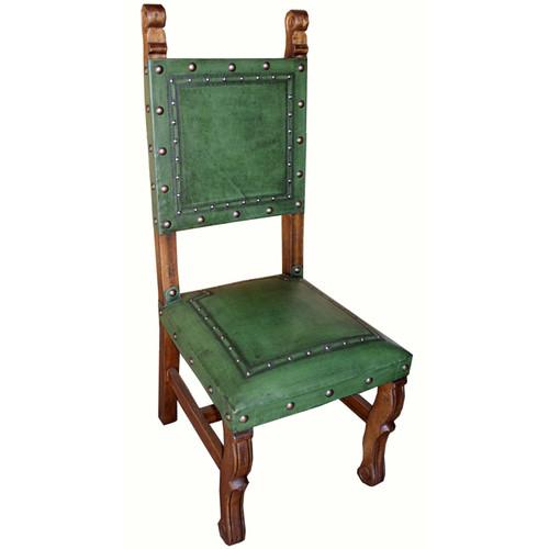 Spanish Heritage Sage Chair - Set of 6