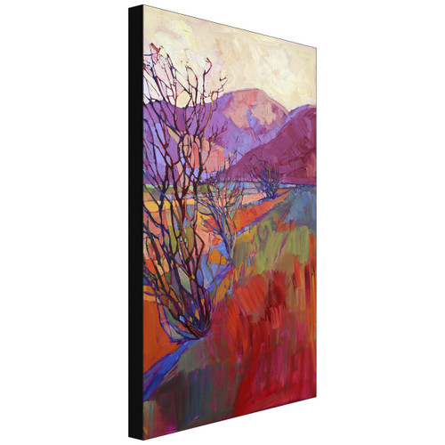 Ocotillo Triptych Right Gallery Wrapped Canvas