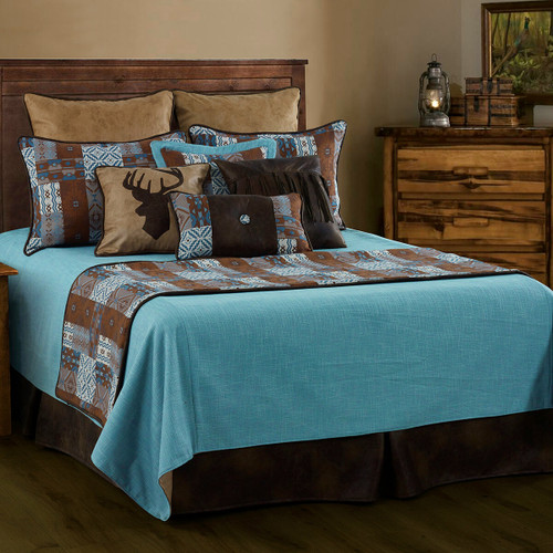 Old Dominion Reversible Coverlet Set - King