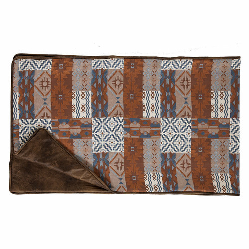 Old Dominion Reversible Patchwork Bed Runner - King