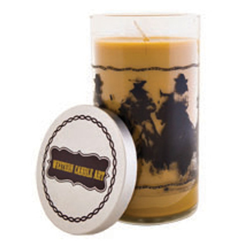 Old West Candle
