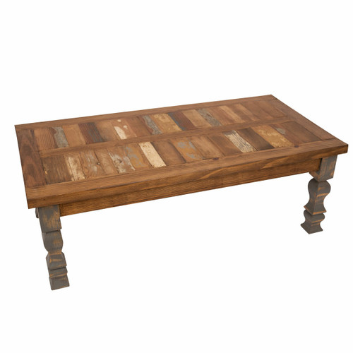Old Wood Industrial Gray Coffee Table