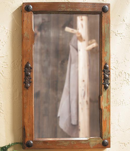 Old Door Mirror