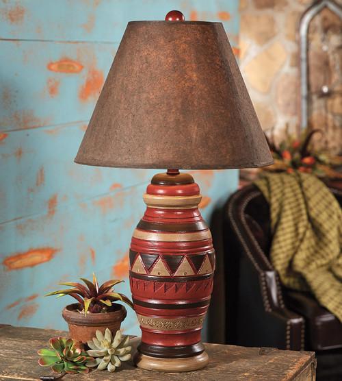 Outback Southwestern Lamp
