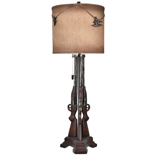 Outlaw Shotgun Table Lamp