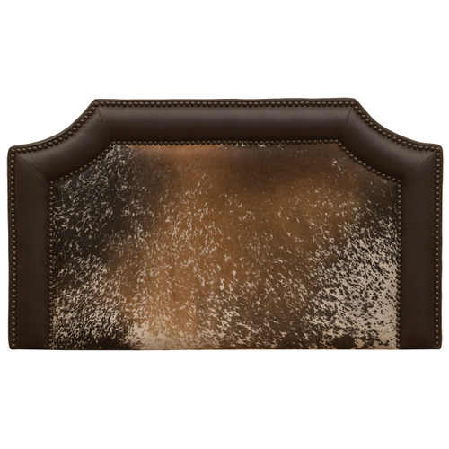 Outlaw Speckled Hair on Hide Headboard - Cal King