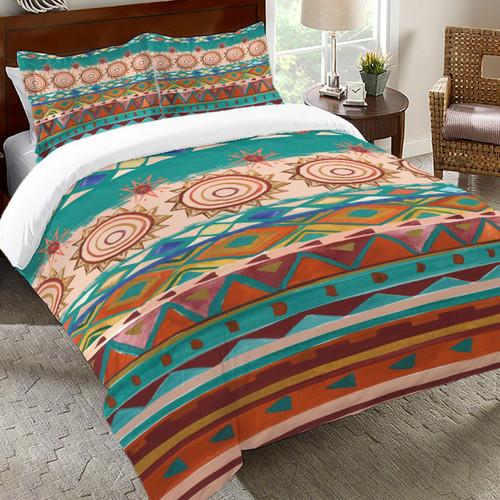 Painted Basin Comforter - Twin - OVERSTOCK