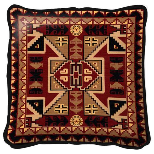 Paraguay Pillow - 17 x 17