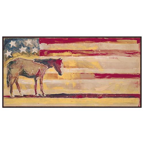 Patriotic Horse Wall Art