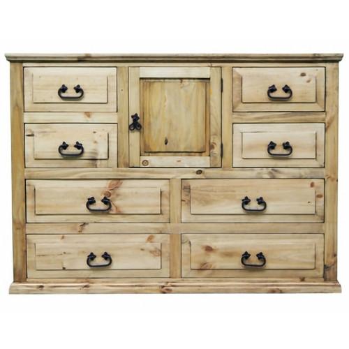 Pine Abode 1 Door Dresser - Natural Light