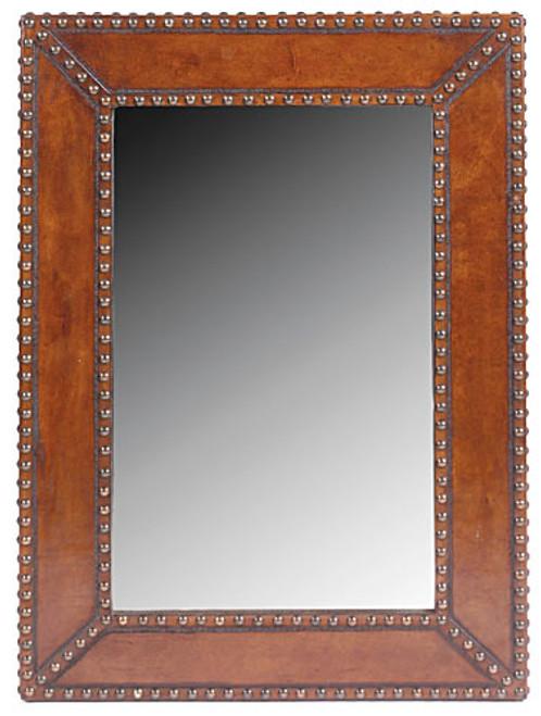 Plain In Nail Heads Mirror