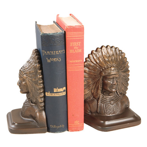 Powerful Chief Bookends
