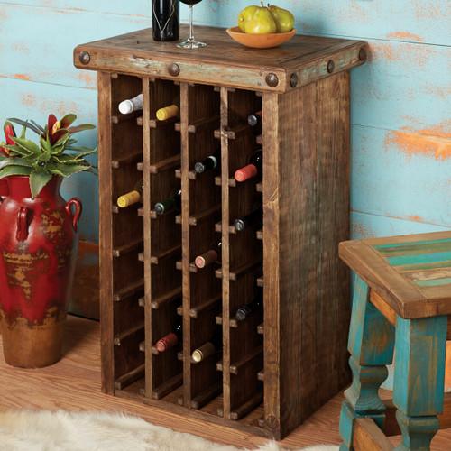 Pueblo Wine Cabinet