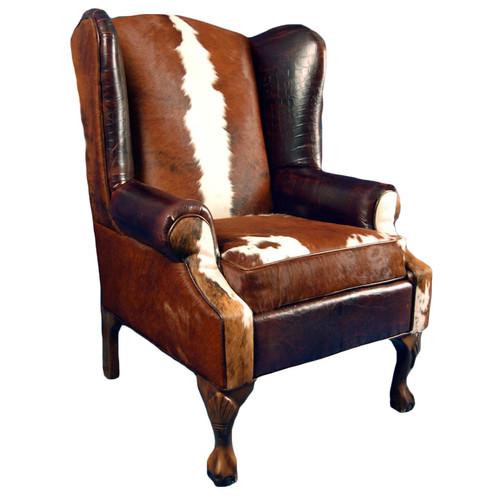 Railroadsman's Wing Back Chair