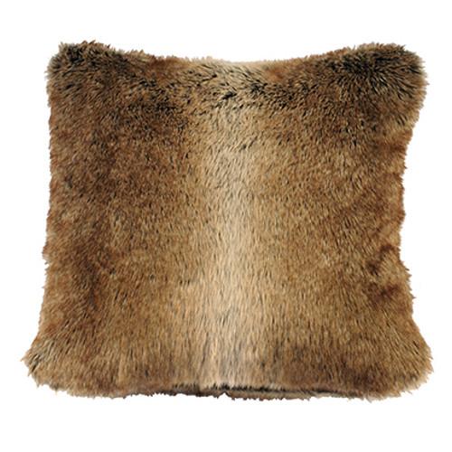 Rain Faux Chinchilla Fur Pillow