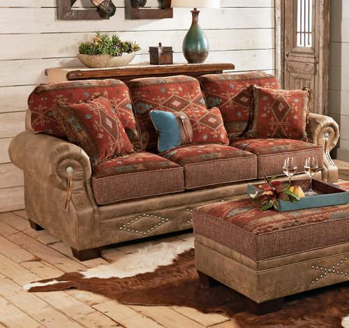 Ranchero Southwestern Sofa