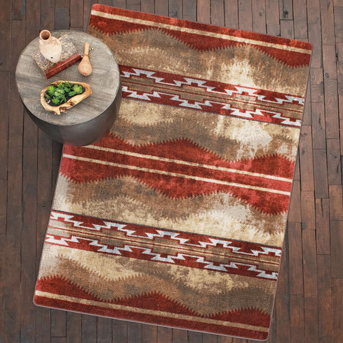Red Canyon Natural Rug - 8 Ft. Round