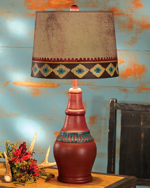 Red Canyon Southwest Table Lamp