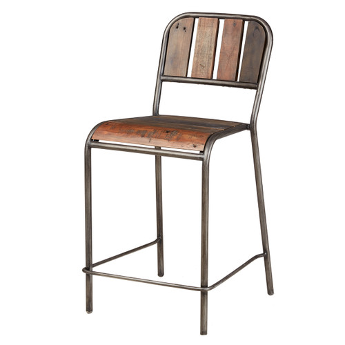 Reese Counter Stool with Backrest