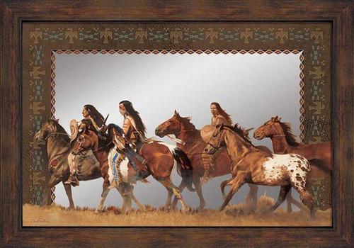 Return of the Stolen Ponies Decorative Mirror
