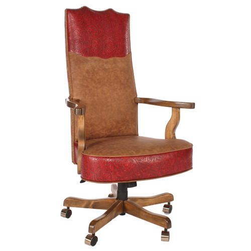 Riata Rose Collection Extra-Tall Office Chair