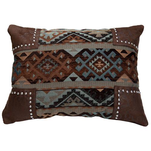 Rio Grande Navajo Scalloped Pillow