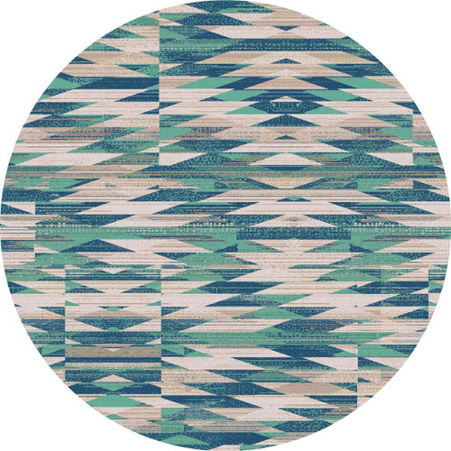 River Path Rug - 8 Ft. Round