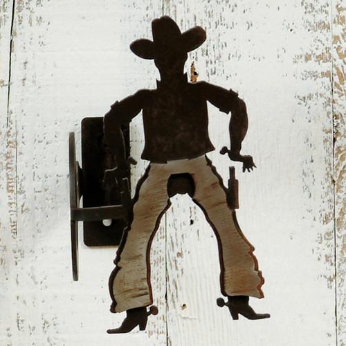 Cowboy Curtain Rod Brackets