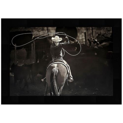 Rodeo Girl Framed Art