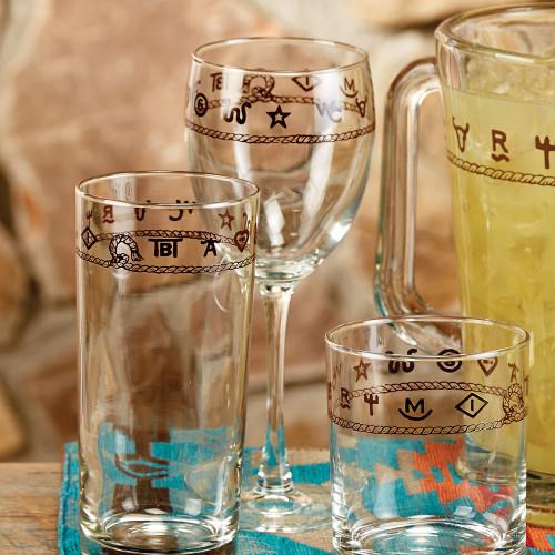 Rope & Brands Wine Glasses - Set of 4