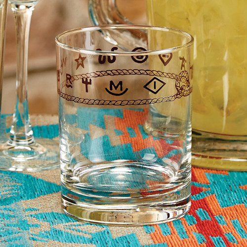 Rope & Brands Double Old Fashioned Glasses - Set of 4