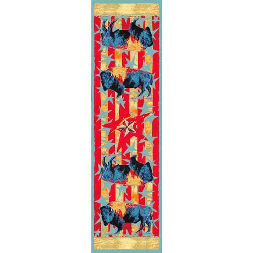 Ruiz Buffalo Stars & Stripes Rug - 2 x 8