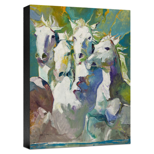 Running Buddies Gallery Wrapped Canvas