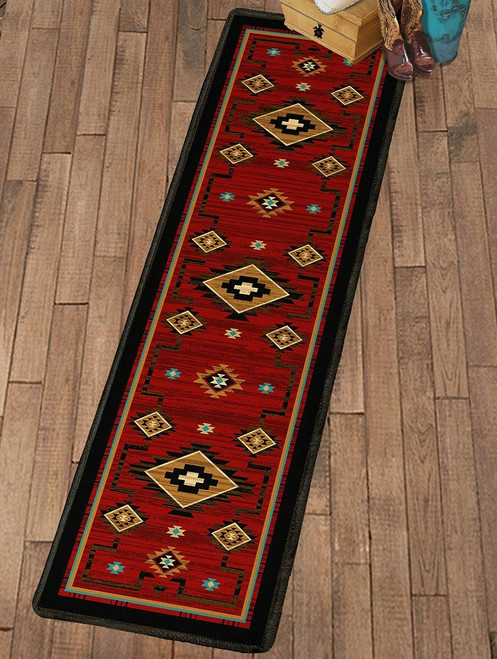 Rusted Dunes Rug - 2 x 8