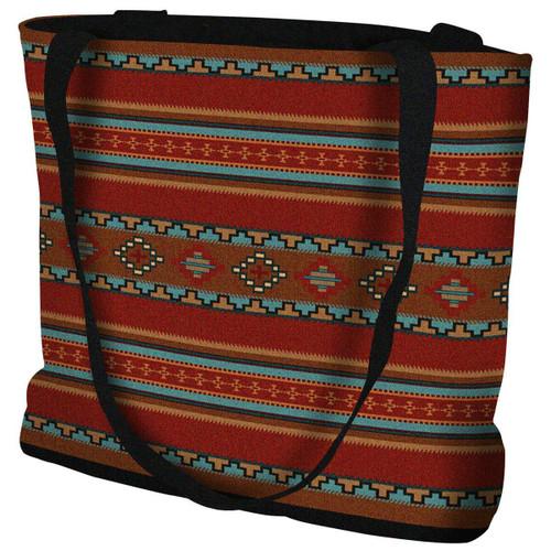 Saddleblanket Red Tote Bag
