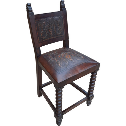 Sally Barstool - Colonial & Antique Brown