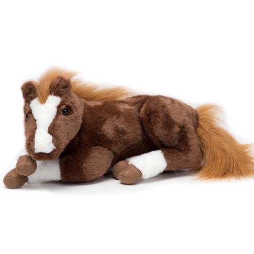 Sandy the Sorrel Horse Stuffed Animal