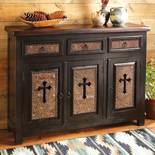 Santa Cruz Cross Cabinet - 3 Door