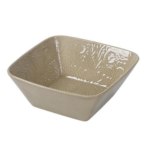 Savannah Taupe Serving Bowl