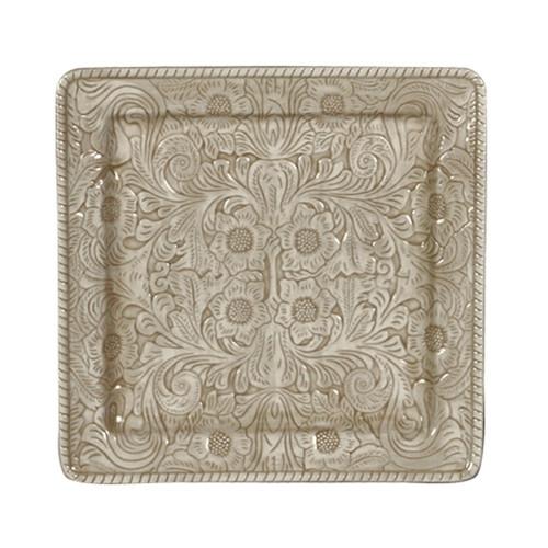 Savannah Taupe Serving Platter