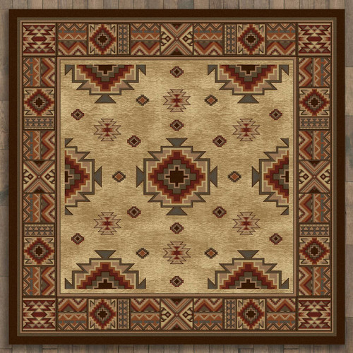 Settlers Retreat Rug - 11 Ft. Square