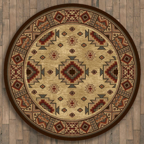 Settlers Retreat Rug - 8 Ft. Round