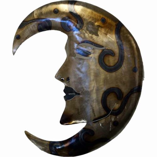 Shining Moon Face Wall Art
